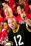 Fans: Visiting Team is Number One Royalty Free Stock Image