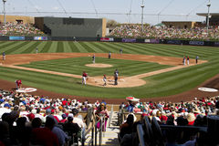 MLB Cactus League Spring Training Game Fans