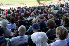 MLB Cactus League Spring Training Game Fans Stock Photo
