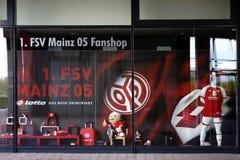 Fanshop FSV Mainz 05 Fotografering för Bildbyråer