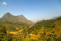 Fansipan mountain Stock Photography