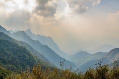 Fansipan mountain Stock Photography