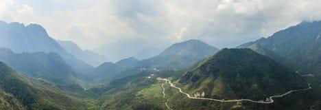 Fansipan mountain Stock Photo