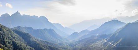 Fansipan mountain Stock Images