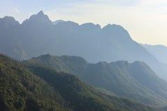 Fansipan mountain Stock Image