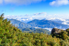 Fansipan Mountain Royalty Free Stock Photo