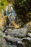 Fansipan-Wasserfall in den Bergen in Sa-PA, Nord-Vietnam Lizenzfreie Stockbilder
