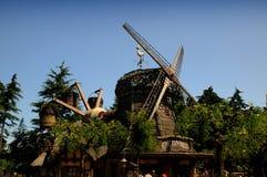 Fanstasyland en Disneylandya París Fotos de archivo libres de regalías