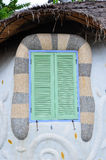 Fansy window. The fansy window designed for exterior decoration Royalty Free Stock Images