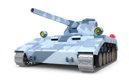 Fantástico pesado do tanque ilustração do vetor