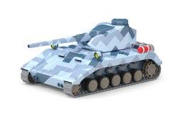 Fantástico pesado do tanque ilustração royalty free