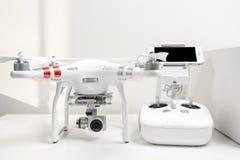 Fantôme 3 de Dji de quadrocopter de bourdon avancé images stock