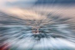 Fantôme de l'eau images stock