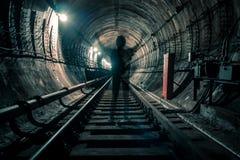 Fantôme souterrain Images stock