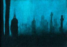 Fantômes Photographie stock