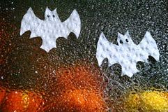 Fantômes de Halloween de papier Photo libre de droits