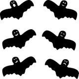Fantômes effrayants de Halloween réglés Photo stock