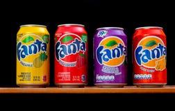 Fanta different taste Royalty Free Stock Image