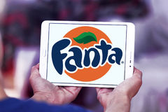 Fanta logo Stock Images