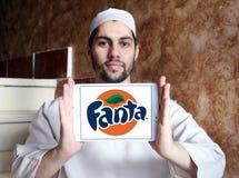 Fanta logo Royalty Free Stock Photos