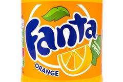 Fanta Orange Label Royalty Free Stock Images