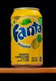 Fanta pineapple Stock Photos