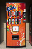 Fanta Soda Machine stock photography