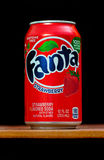 Fanta strawberry Stock Photo