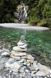 Fantail Falls New Zealand Stock Photos