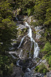 Fantail Falls. In New Zealand Stock Image