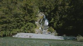 Fantail spadki, Haast przepustka, Mt Aspiruje parka narodowego, Nowa Zelandia zbiory