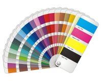 Fantail van de kleur Royalty-vrije Stock Foto
