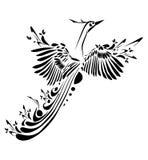 fantaisie d'oiseau Photo libre de droits