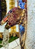Fantan snake Barcelona Gaudi Royalty Free Stock Photography