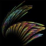 Fantasía abstracta de la estructura del color del arte del fractal libre illustration