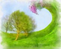 Fantasía de abril Imágenes de archivo libres de regalías