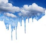 Fantasía de goteo del cielo azul Fotos de archivo libres de regalías