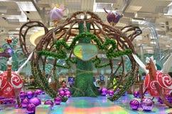 Fantasía de la Navidad de Changi Fotografía de archivo