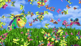 Fantasía de las mariposas stock de ilustración