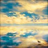 Fantasía del cielo y del mar Fotos de archivo libres de regalías