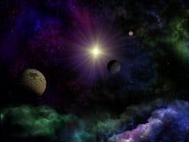 Fantasía del espacio Imagen de archivo