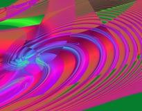 Fantasía del fractal por buenas épocas ilustración del vector