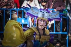 Fantasía en carnaval imagen de archivo