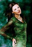 Fantasía en verde Foto de archivo