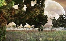 Fantasía Landcape Fotos de archivo libres de regalías