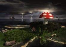 fantasea jungledible Стоковая Фотография