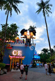 Fantasea, Phuket. Shopping Streets in Fantasea, which is a theme park packed with a multitude of night‑time entertainment and activities, phuket, Thailand Royalty Free Stock Image