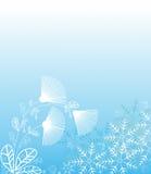 Fantasi för julbakgrundsvinter Arkivfoto
