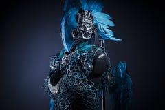 Fantasi, handgjort utforma av en fågel eller mytologiskt diagram med Royaltyfria Foton