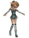 Fantasi Toon Figure Royaltyfria Bilder
